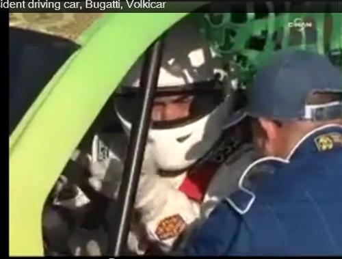 Tổng thống Turkmenistan lái siêu xe Bugatti - 2
