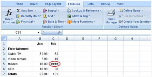 Tìm hiểu Excel 2007: Cách nhập công thức - 10