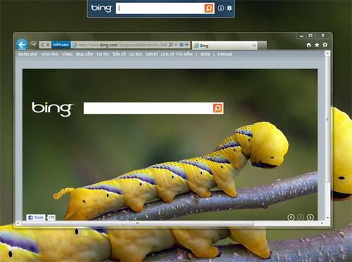 Bing Desktop: Mang cỗ máy tìm kiếm Bing về máy tính - 1