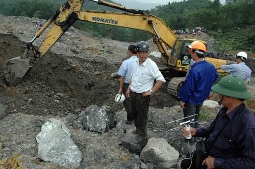 Sạt lở ở Thái Nguyên: Nỗi đau tuyệt vọng - 4