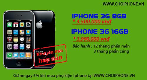 Khuyến mại iPhone, Blackberry giá rất hấp dẫn - 1