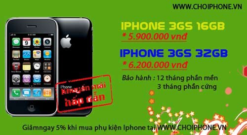 Khuyến mại iPhone, Blackberry giá rất hấp dẫn - 2