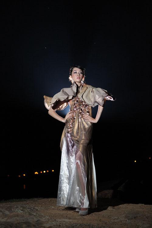 Trang Trần đằm thắm cùng áo dài lạ - 20