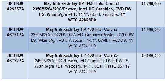HP 430 - laptop mới dành cho sinh viên - 2