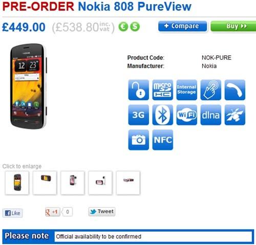 Nokia 808 PureView cái giá 'đá' cái camera - 1