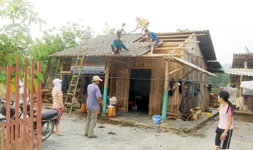 Mưa đá dữ dội ở Lào Cai - 1