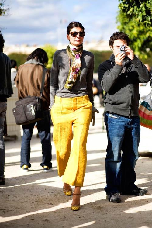 Sành điệu với tông màu vàng đúng mốt - 3