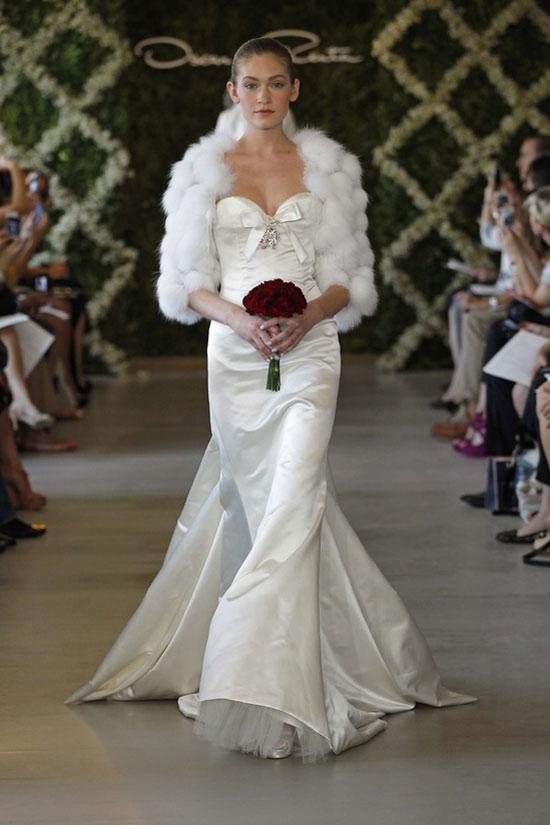 Năm 2013, cô dâu mặc gì? - 10