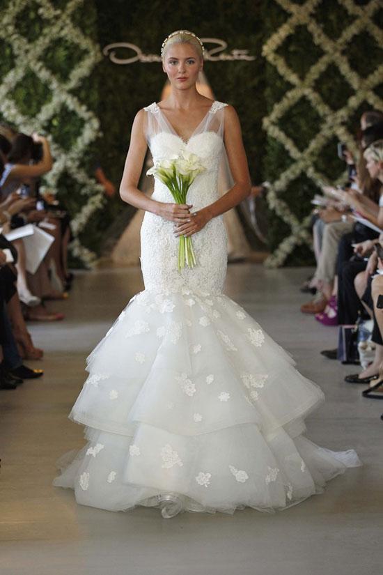 Năm 2013, cô dâu mặc gì? - 12