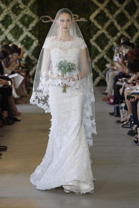 Năm 2013, cô dâu mặc gì? - 16