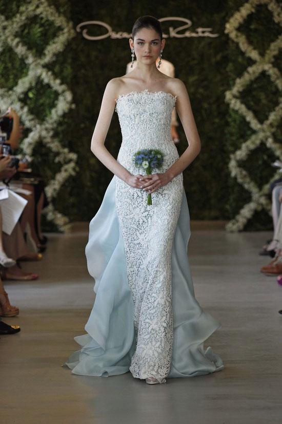 Năm 2013, cô dâu mặc gì? - 15