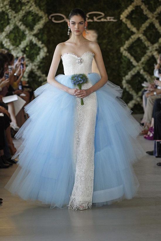 Năm 2013, cô dâu mặc gì? - 3