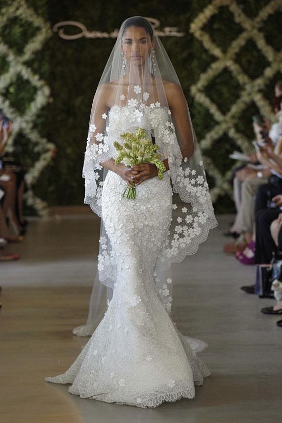 Năm 2013, cô dâu mặc gì? - 6