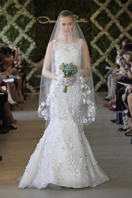 Năm 2013, cô dâu mặc gì? - 21