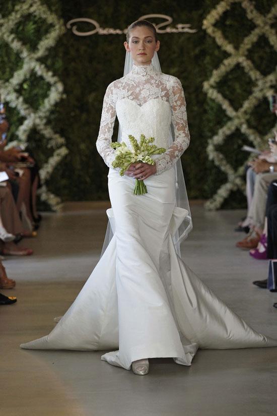 Năm 2013, cô dâu mặc gì? - 24