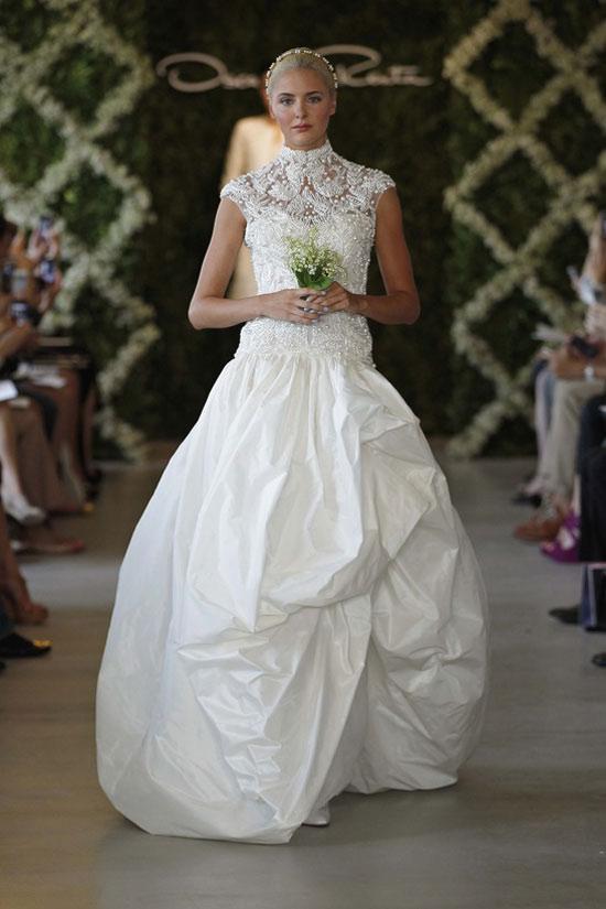 Năm 2013, cô dâu mặc gì? - 23