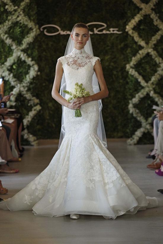 Năm 2013, cô dâu mặc gì? - 25