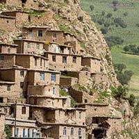 Ấn tượng những ngôi nhà gối đầu lên núi