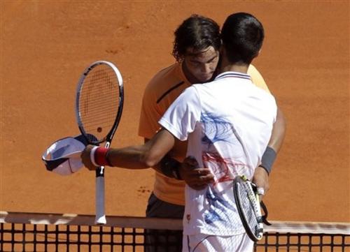 Djokovic - Nadal: Thảm bại (Video tennis, chung kết Monte-Carlo Masters 2012) - 1
