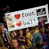 Fan Barca  Real: Cuc chin vn nng