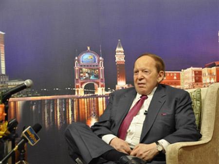 Trò chuyện với tỷ phú Mỹ Adelson - 1