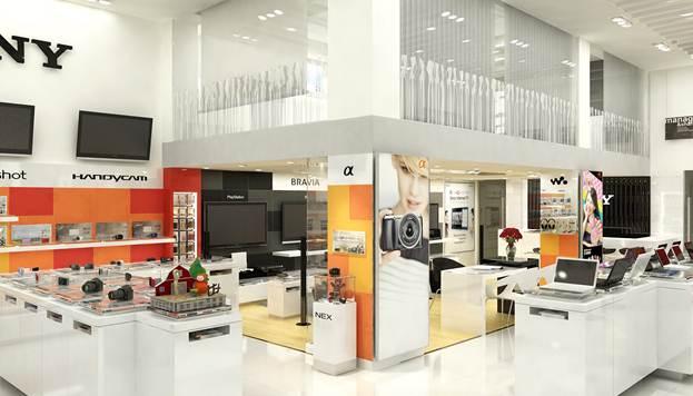 Showroom Sony dành riêng cho khách hàng sành điệu - 2