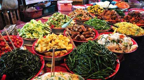 Thử một lần ăn chay ở Lào - 1