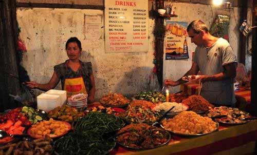 Thử một lần ăn chay ở Lào - 2