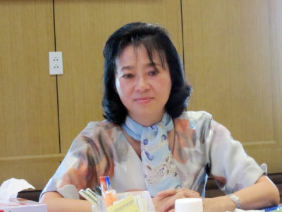 Bà Hoàng Yến tổ chức họp báo sai phép - 1
