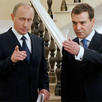 Putin  c Dmitry Medvedev lm ch tch ng