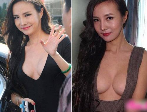 Sao Hoa ngữ ngày càng sa đà khoe ngực - 1