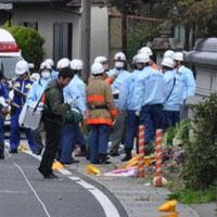 """Nhật: Xe """"điên"""" tông chết học sinh và bà bầu"""