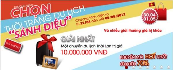 Sắm thời trang giá rẻ và cơ hội du lịch Thái Lan - 1