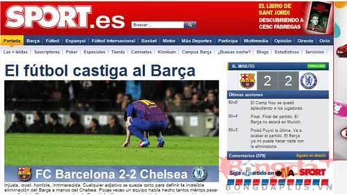 Báo chí Catalunya chửi Chelsea thậm tệ - 1