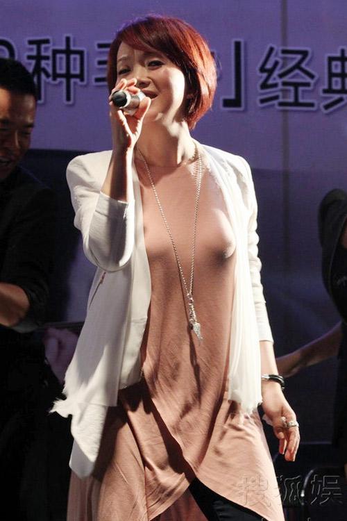 """Nữ ca sỹ Trung Quốc """"đãi mắt"""" khán giả - 5"""