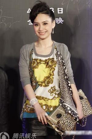 """Nữ ca sỹ Trung Quốc """"đãi mắt"""" khán giả - 6"""
