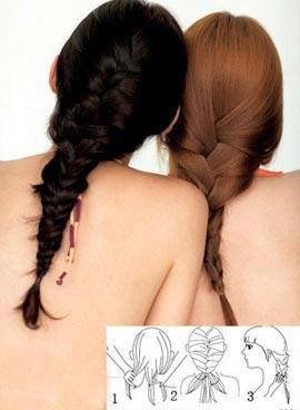 Tự tết tóc rết điệu nghệ - 1