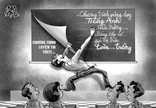 "TOEFL, TOEIC ""nhái"" - 1"