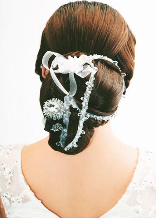 Tóc tết gợi cảm cho cô dâu mùa hè - 8