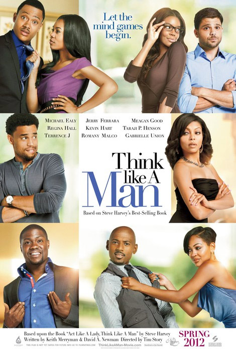 """Think Like A Man"" tiếp tục dẫn đầu, Phim, Think Like A Man,The Hunger Games,The Five Year Engagement, Top 10 phim, doanh thu phong ve, Phong ve bac my, Phim hay"