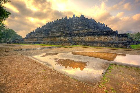 Đền Borobudur - kì quan Phật giáo lớn nhất thế giới - 2