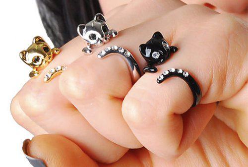 Nhẫn cũng đáng yêu như... mèo - 9