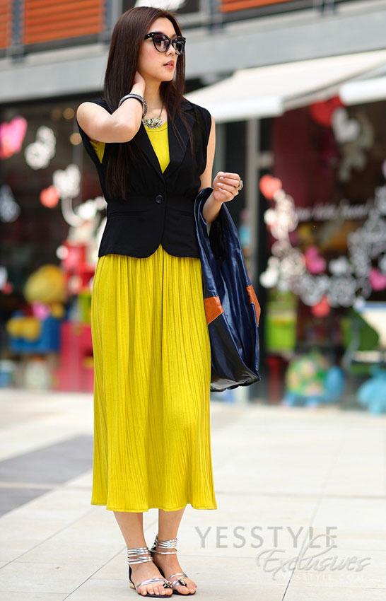 Mặc váy maxi mát dịu mùa hè - 1