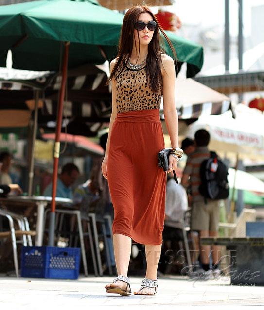 Mặc váy maxi mát dịu mùa hè - 10