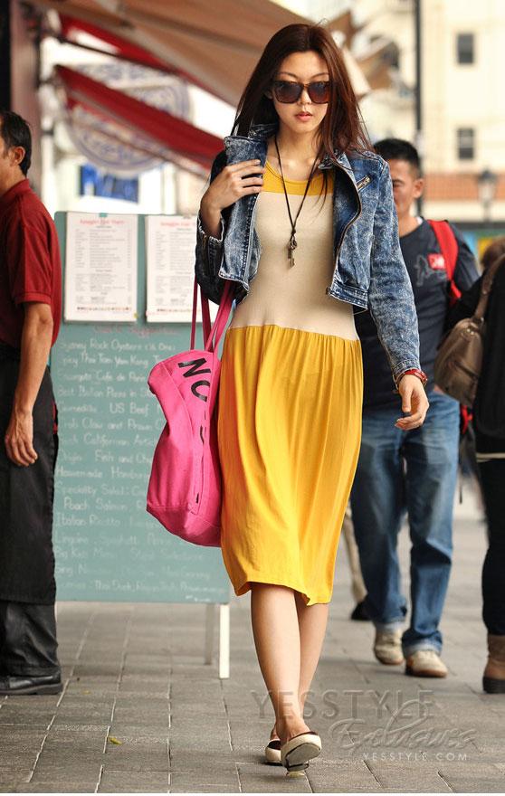 Mặc váy maxi mát dịu mùa hè - 17