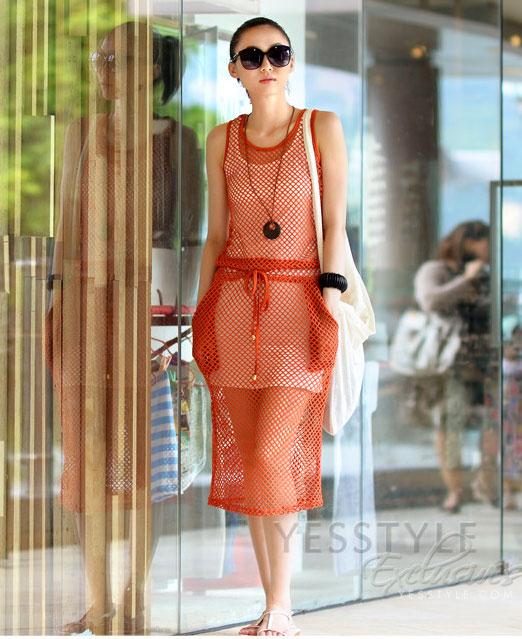 Mặc váy maxi mát dịu mùa hè - 20