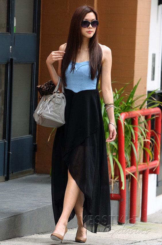 Mặc váy maxi mát dịu mùa hè - 21