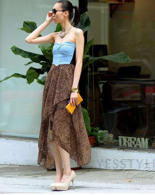 Mặc váy maxi mát dịu mùa hè - 23