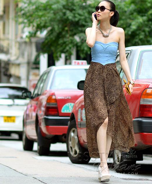 Mặc váy maxi mát dịu mùa hè - 22