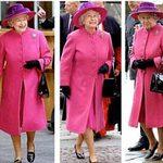 Thời trang - Nữ hoàng Anh dùng đồ cũ để tiết kiệm